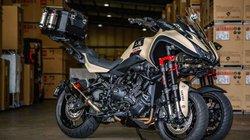 Soi xe ba bánh Yamaha Niken Turbo, mạnh tới 200 mã lực