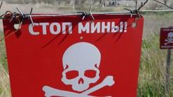 Chiến sự Donbass:Đông Ukraine là nơi bị gài mìn nhiều nhất thế giới