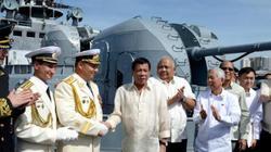Tàu chiến Nga cập cảng Philippines giữa lúc căng thẳng ở Biển Đông