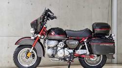 Xế lạ MonDavi: Thân Honda Monkey nhưng hình hài Harley-Davidson Glide Ultra