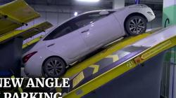 Độc đáo: Bãi đỗ xe nghiêng 30 độ giúp tăng số lượng xe lên gần gấp đôi ở TQ