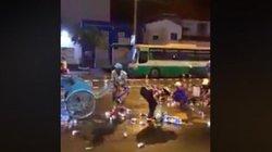 """TP.HCM: Cả chục người """"hôi bia"""" giữa trung tâm quận 1 lúc rạng sáng"""