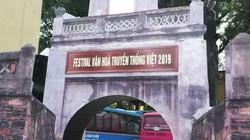 Chủ tịch Hà Nội yêu cầu xử lý vụ Festival truyền thống như hội chợ