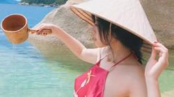 Cô gái táo bạo mặc áo yếm đi du lịch thu hút sự chú ý của dân mạng