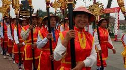 7 xã, phường, thị trấn vùng ven nô nức rước kiệu về Đền Hùng