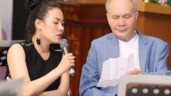 Ngọc Châm hồi hộp tập song ca cùng nhạc sĩ Vũ Thành An và Tuấn Ngọc