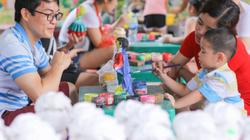 ẢNH: Khu vui chơi ở Hà Nội nhộn nhịp dịp giỗ tổ Hùng Vương