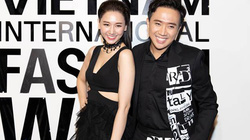 Hari Won mặc xuyên thấu dự Tuần lễ thời trang Việt
