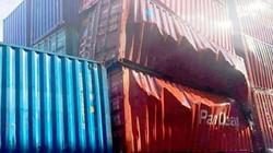 Container chứa nguyên liệu nhập từ Trung Quốc phát nổ tại cảng