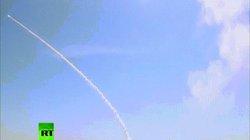 """Xem """"rồng lửa"""" S-300 Nga phóng liên tiếp đạn phòng không lên trời"""