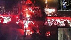 Toàn cảnh hiện trường cháy Nhà thờ Đức Bà Paris