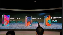 Thị trường smartphone tầm trung lại dậy sóng với Galaxy A60 và A40s
