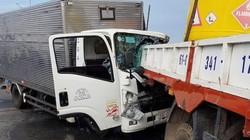 Xe tải tông vào đuôi xe cẩu, 3 người thương vong