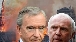 """Cuộc chiến """"ngầm"""" giữa 2 siêu tỷ phú Pháp quyên góp 340 triệu USD cho Nhà thờ Đức Bà"""