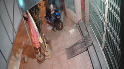 Thanh niên trộm xe máy Air Blade trong chớp nhoáng