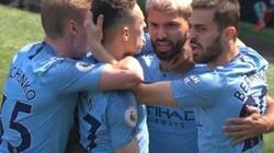 """""""Phục thù"""" Tottenham, Man City đánh chiếm ngôi đầu Premier League"""