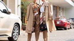 Ngân Anh có phạm lỗi thời trang khi diện đồ mùa đông kín mít giữa mùa hè?