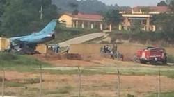 Máy bay quân sự gặp sự cố ở Yên Bái do dù hãm đà bị đứt
