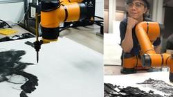Cỗ máy tích hợp trí tuệ nhân tạo có khả năng vẽ tranh mực Tàu trị giá hàng trăm triệu