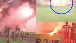 Vì sao VFF treo sân Hà Nội FC khi CĐV Hải Phòng đốt pháo sáng?