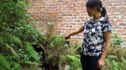Lạng Sơn: Nước thải đỏ lòm từ xưởng chế biến chân gà, chân lợn