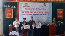 Quảng Nam: Đơn vị tác chiến điện tử-Hội ND kết tình quân dân