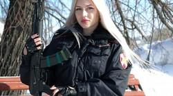 Nữ vệ sĩ của Putin dành vương miện đẹp nhất quân đội Nga