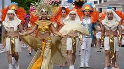 Carnaval Hạ Long sôi động với màn diễn diễu đường phố đầy màu sắc