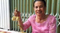 Chỉ có duy nhất ở An Giang: Loại bánh gói bằng lá thốt nốt cực lạ