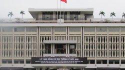 TP.HCM: Hội trường Thống Nhất sẵn sàng cho Lễ tang Đại tướng Lê Đức Anh