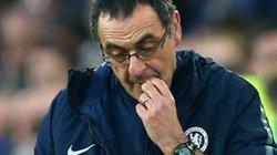 """HLV Sarri """"bực mình"""" khi Chelsea không thể thắng đậm Frankfurt"""