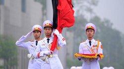 Lễ thượng cờ rủ quốc tang Đại tướng Lê Đức Anh