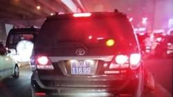 Tài xế ôtô biển xanh gây tai nạn, bỏ chạy đã trình diện công an