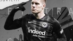 """Luka Jovic: Từ 50 euro/1 trận… """"đá phủi"""" đến hiện tượng Bundesliga"""