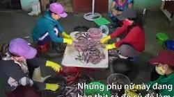 Làng xay chả cá đỏ ở Quảng Ngãi vừa cho chồng ăn vừa bán