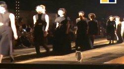 """Chú mèo đi lạc lên sàn """"catwalk"""" bỗng nhiên trở thành ngôi sao"""