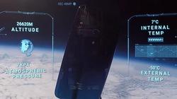 Redmi Note 7 chạy tốt ngay cả khi lên vũ trụ và rơi xuống Trái đất