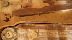 Phát hiện hai xác ướp 4.500 năm tuổi còn nguyên vẹn ở Ai Cập
