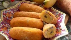Cách làm bánh chuối khoai lang chiên giòn rụm, ăn hoài không biết chán