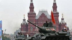 Hình ảnh Nga diễu binh hoành tráng kỷ niệm Ngày Chiến thắng