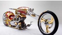 Soi chiếc chopper Nehmesis mạ vàng độc đáo nhất hành tinh