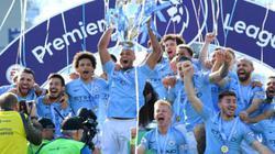 CHÙM ẢNH: Man City tưng bừng nâng cúp bạc Premier League