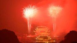 Vesak 2019: Huyền ảo màn pháo hoa tại chùa Tam Chúc