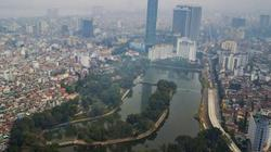 ẢNH: Hà Nội chủ trương làm bãi đỗ xe ngầm trong công viên Thủ Lệ