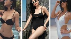 """Clip: 3 người đẹp trong """"Quỳnh búp bê"""" đọ dáng với bikini chào hè"""