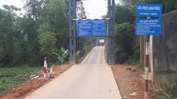 """Thái Nguyên: Dân phản đối lập """"BOT"""" thu phí qua cầu treo"""