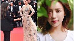 """Nàng """"A hoàn"""" khiến cả showbiz Hoa ngữ """"ê chề"""" trên thảm đỏ Cannes là ai?"""