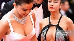 """Loạt mỹ nhân siêu vòng 1 làm """"náo loạn"""" thảm đỏ Cannes 2019"""