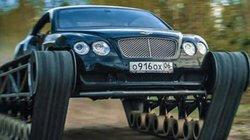 """Bentley Continental GT hóa """"xe tăng siêu sang"""" nhờ lắp thêm bánh xích"""