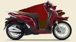 Honda SH Mode ra màu mới đỏ nâu, giá 51,69 triệu đồng